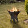 Basket eldstad utomhus för er trädgård