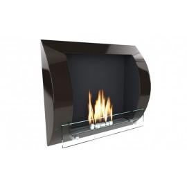 Fuego väggmonterad bioetanolspis svart